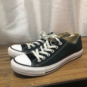 Black Converse All Star Low Top Canvas